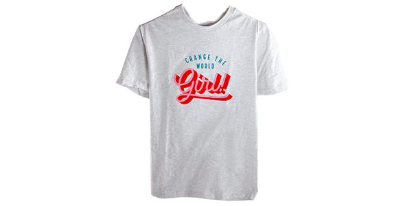 Amy's Blend Change the World girl teeshirt
