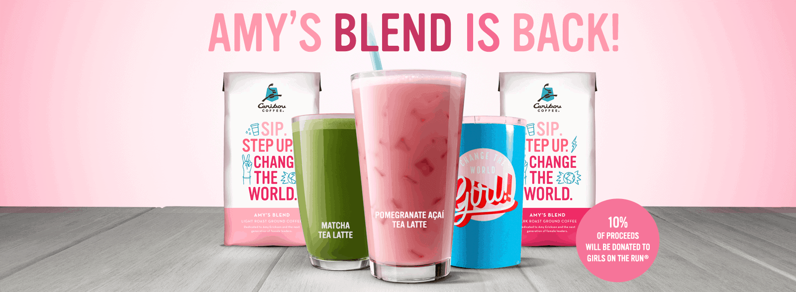 Caribou Coffee Amy's Blend is Back!