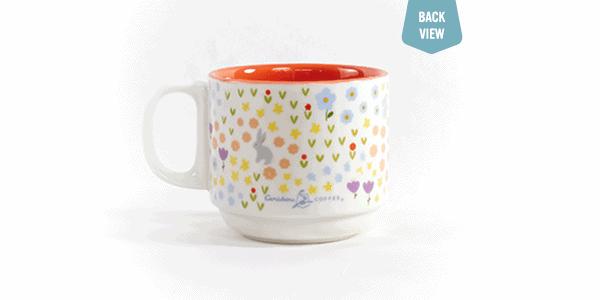 Spring do you thing ceramic mug back view