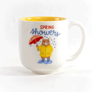 Spring Showers bring flowers ceramic mug