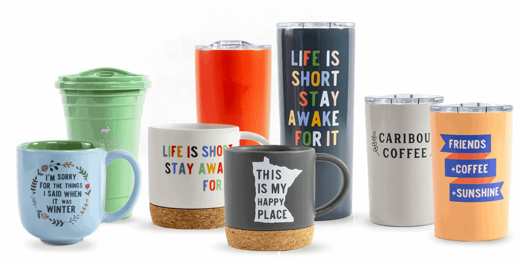 Caribou Coffee Drinkware