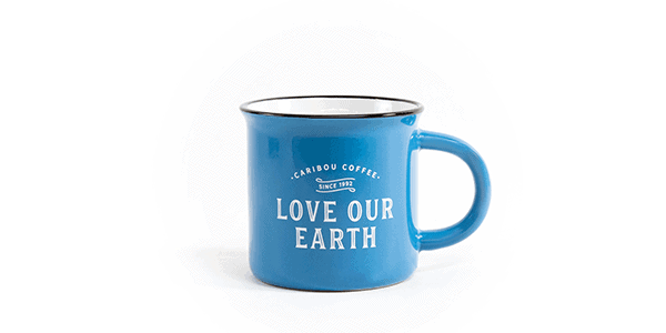 Love our earth, mug