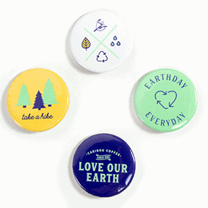 Earth day pin