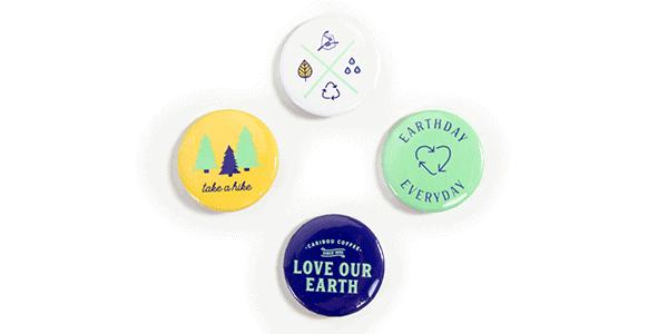 Earth day pin