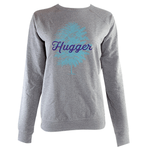 Tree Hugger sweatshirt, gray