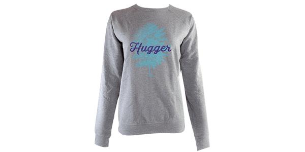 Tree Hugger sweatshirt, gray