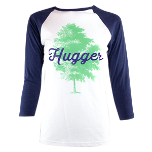TreeHugger tee shirt, front view