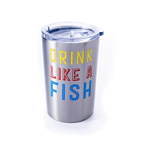 drink like a fish stainless