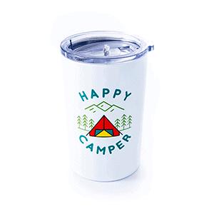 happy camper white