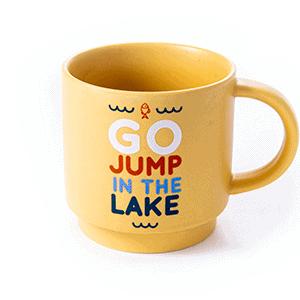 lake gold ceramic front