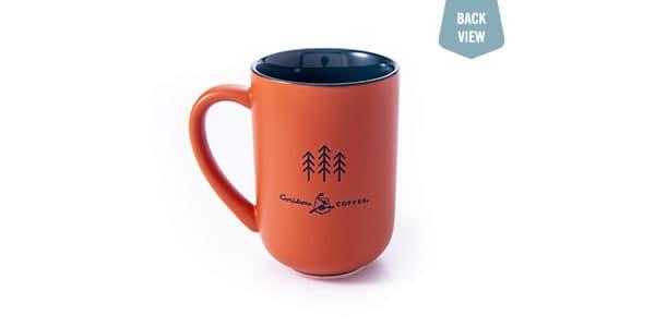 raccoon mug back