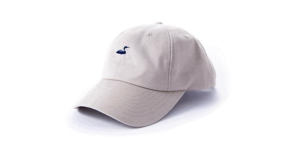 tan hat front