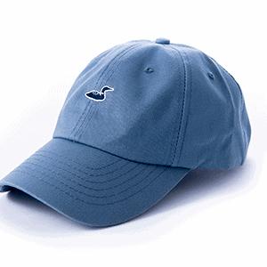 blue hat front