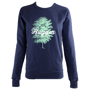 Navy Tree Hugger Sweatshirt
