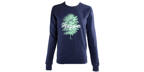 Navy Tree Hugger Sweatshirt