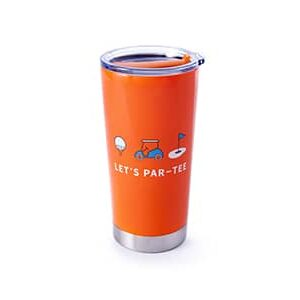 Let's par-tee orange front