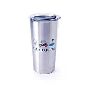 Let's par-tee stainless front