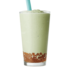 Matcha Tea Cooler with Bubbles