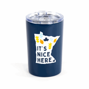 It's nice here tumbler - Navy