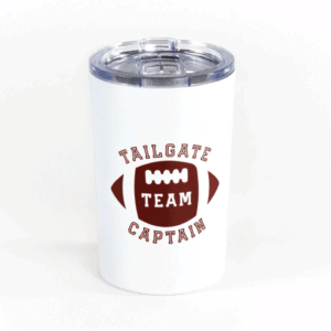 Tailgate Captain Tumbler - White