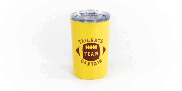 Tailgate Captain Tumbler - Gold