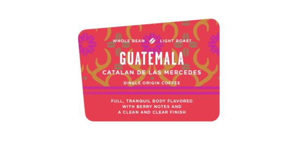 Guatemala Catalan de las Mercedes, coffee, light roast, specialty Discovery bean