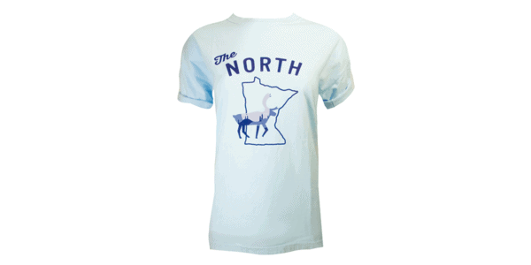MN The North Tee-Blue