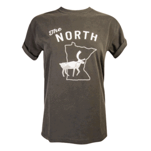 MN North tee - Pepper