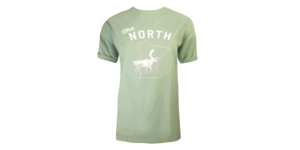 MN North Tee - Green