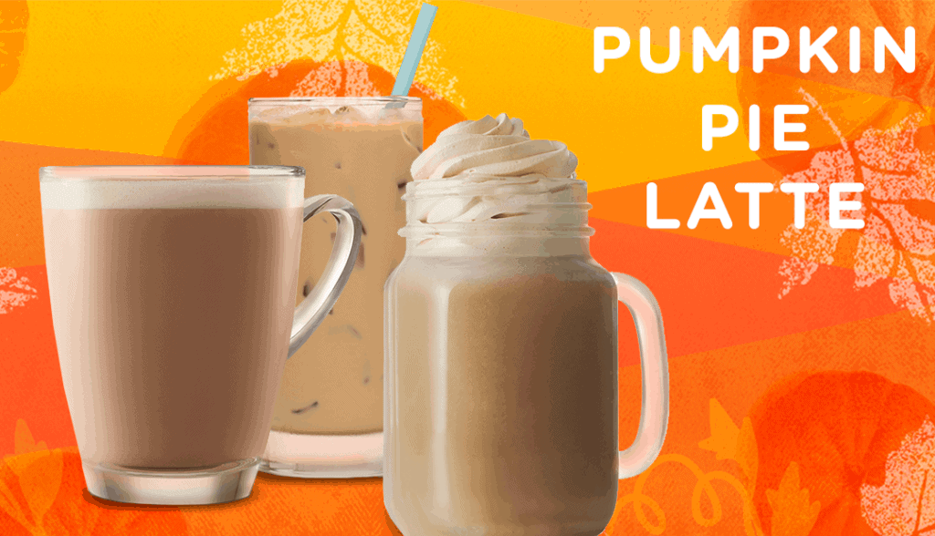 pumpkin pie latte feature