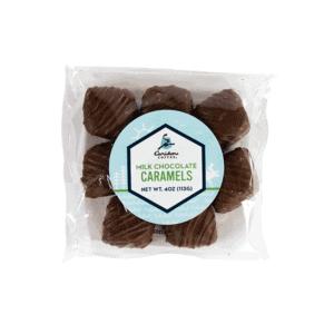 choc covered caramels