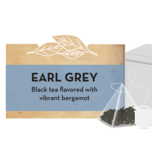 Earl Grey tea tin