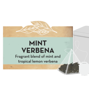 Mint Verbena tea tin