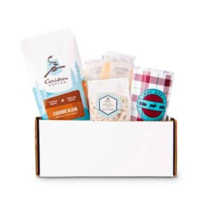 fall gift set - red plaid