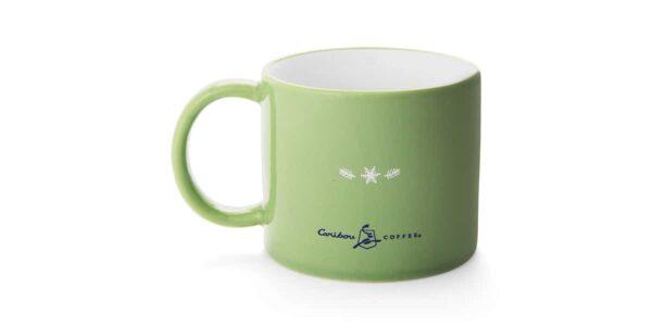 dog mug ceramic back