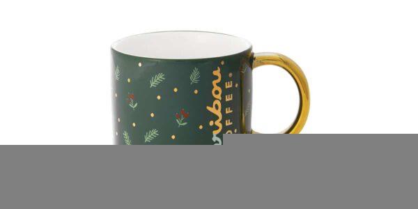 holiday holly ceramic
