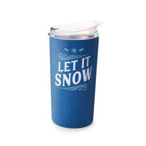 let it snow tumbler