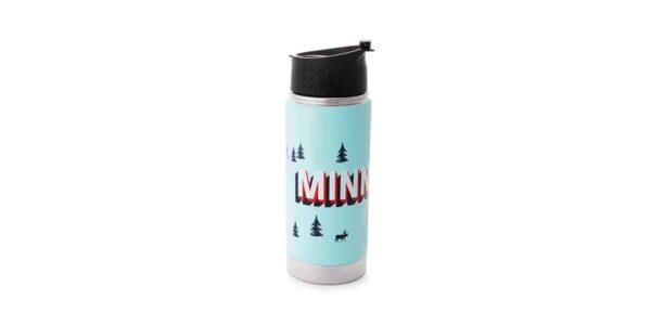 MN blue tumbler