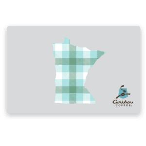 MN plaid gift card