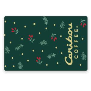 holiday holly gift card