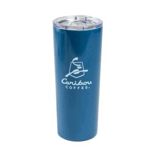 caribou blue evergreen tumbler