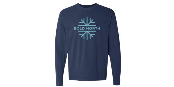 Bold north navy tee