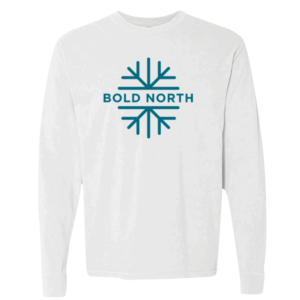 bold north white tee