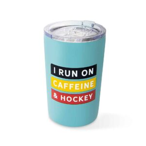 run on caffeine tumbler F