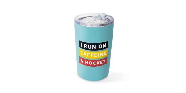 run on caffeine tumbler F