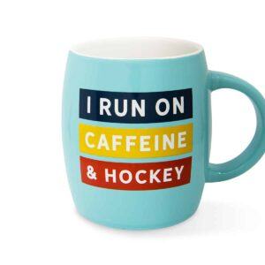 run on caffeine mug F