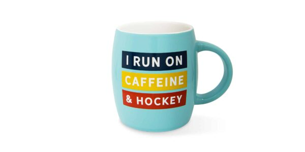 run on caffeine mug F