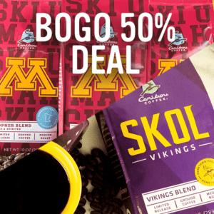 Buy 1, Get 1 50% off Deal