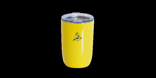 MN yellow tumbler
