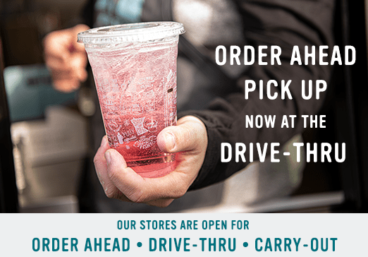 Order Ahead now available at Drive-Thru image